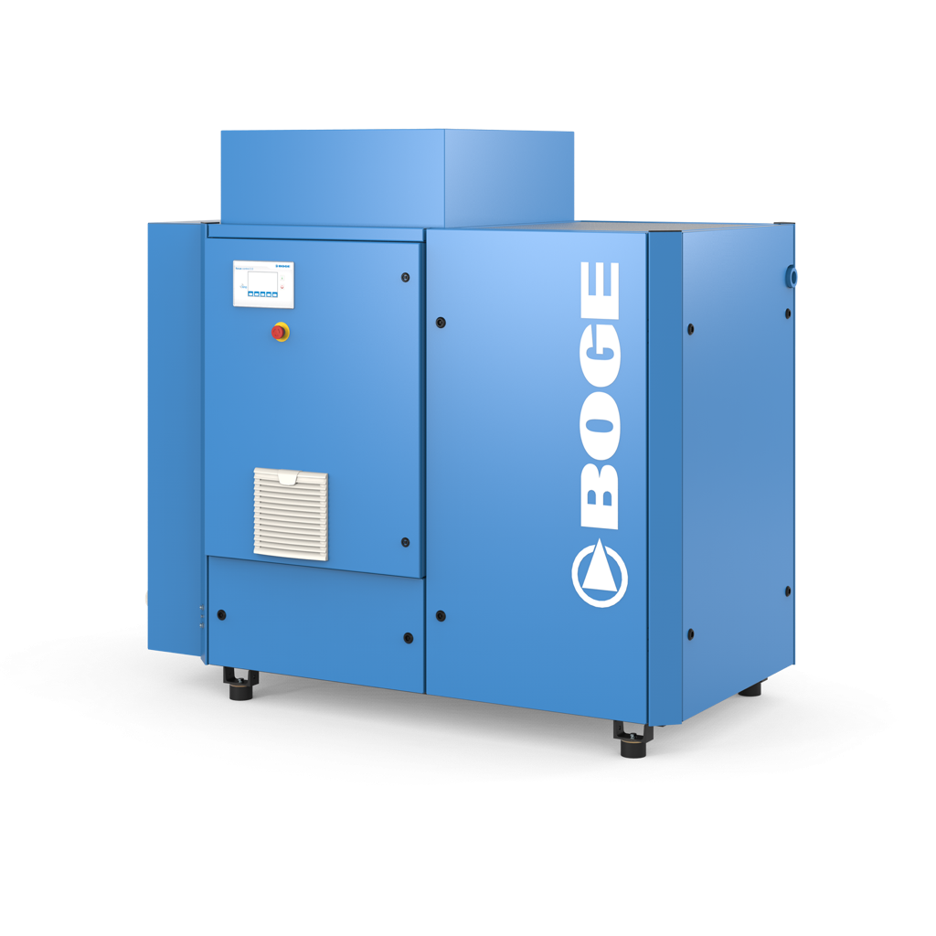 BOGE SLDF-40-3 Screw Compressor (Frequency Controlled and Dryer)